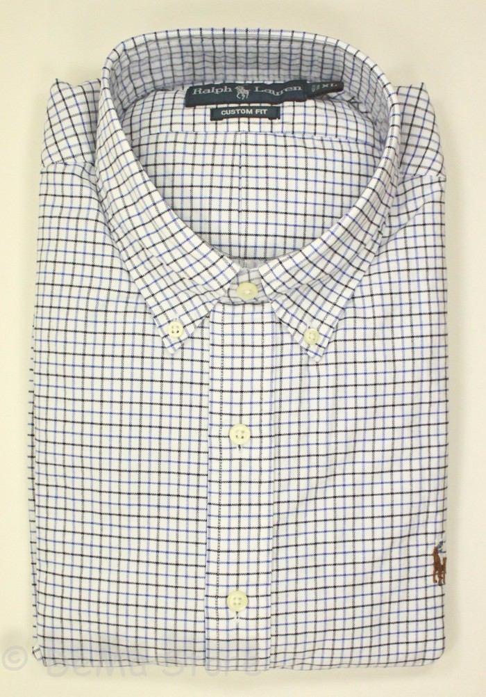 camisa social ralph lauren xadrez azul claro frete grátis. Carregando zoom. eaa1d6af2b0
