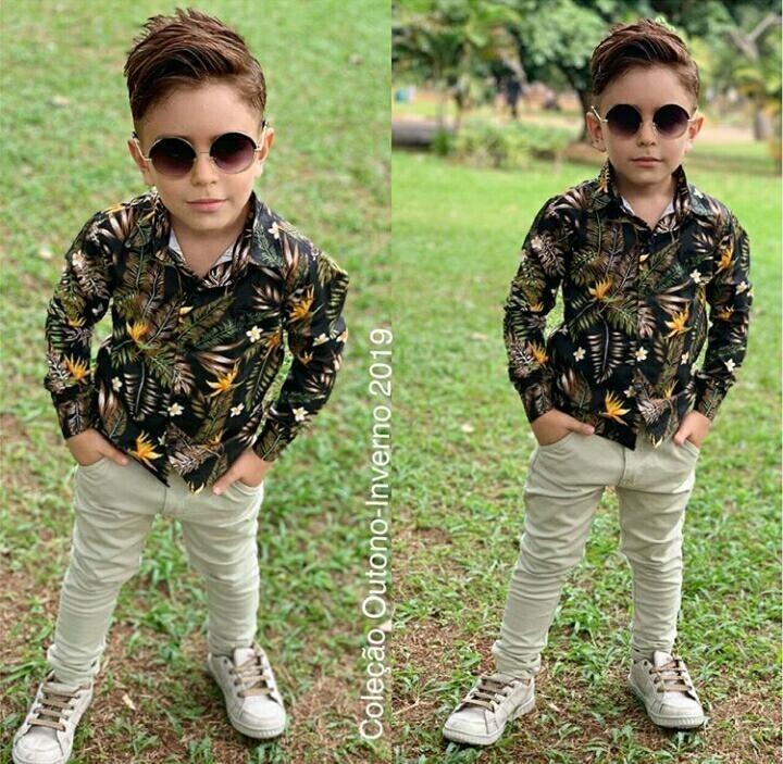 7ed8fbb3c02a08 Camisa Social Roupa Infantil Menino Tal Pai Mãe Tal Filho