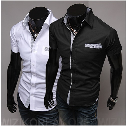 Camisa Social Slim De Luxo Manga Curta - R  60 d63b2b534a447
