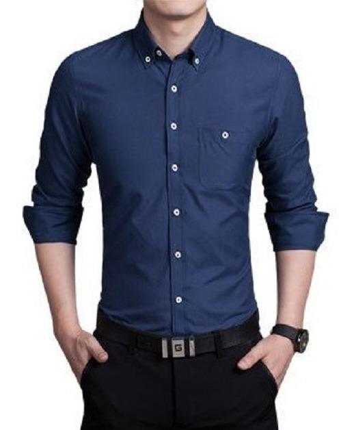 202fb19d2f Camisa Social Slim Estilo Empresario Frete Grátis Para 2 Un - R$ 79 ...