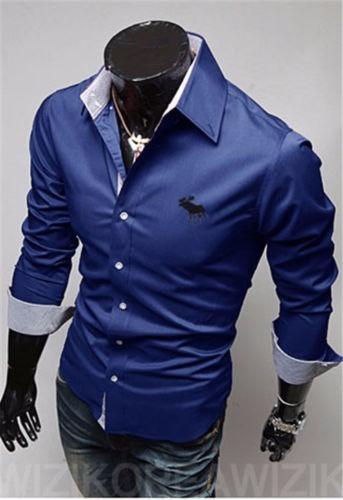 4a49408f5d Camisa Social Slim Fit De Homens De Negocio