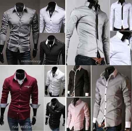 Camisa Social Slim Fit Importada Frete Grátis+de 80 Modelos! - R  69 ... f38c833de8d54