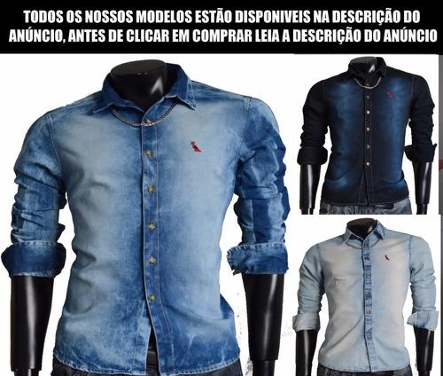camisa social slim fit importada mais 100 modelos promoção
