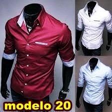 754831c0ad Camisa Social Slim Fit - Lindas Camisas- Menor Preço - R  192