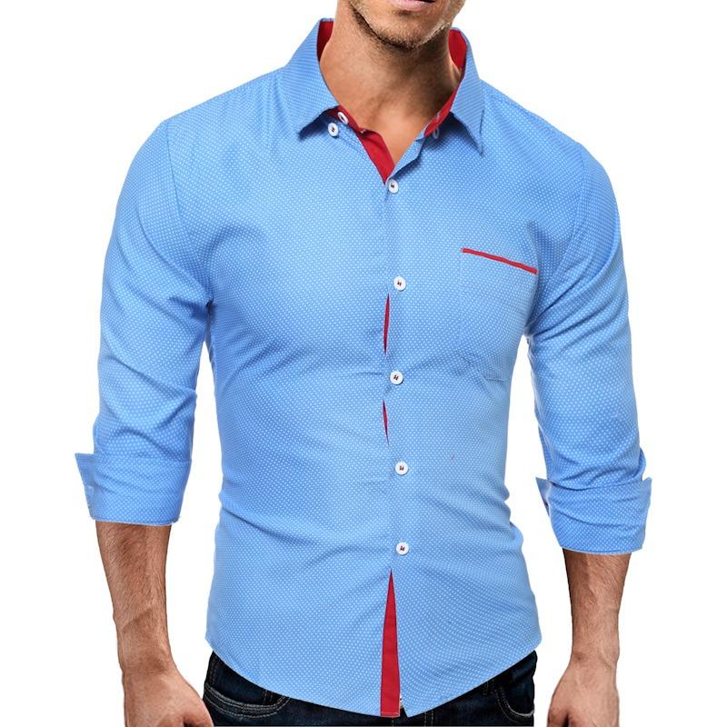 camisa social slim fit luxo estilo italiano envio imediato. Carregando zoom. 26b0a4c0c0107