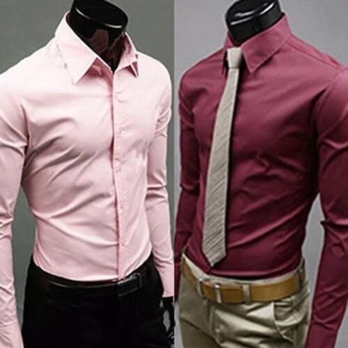dbf77ebd9f Camisa Social Slim Fit Luxo Importada - Melhor Preço - R  29