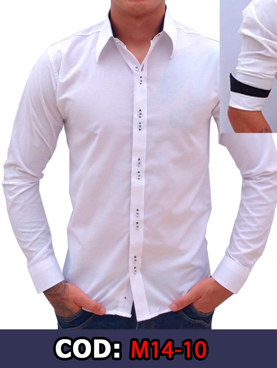 ab47a1744e camisa social slim fit masculina branca promoção compre já. Carregando zoom.