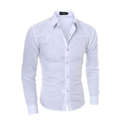 0cce1ff9e1 Camisa Social Slim Fit Masculina Pronta Entrega Promoção - R$ 55,00 ...