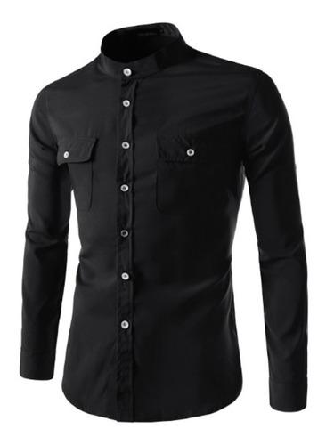 camisa social slim fit noblemen's estilo australiano