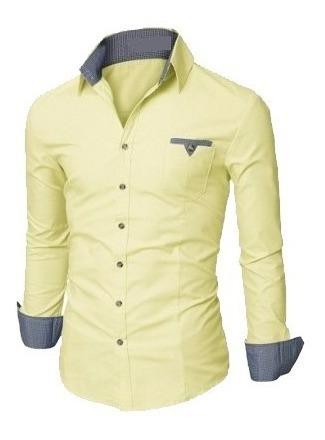camisa social slim fit noblemen's  estilo dubai com xadrez