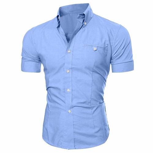camisa social slim fit - super estilosa