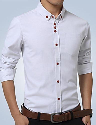 camisa social slim fit top de linha frete grátis para 2 un