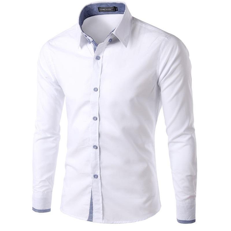 de6a9be354 Camisa Social Slim Masculina Adulto Promoção 2018 Camiseta - R  59 ...
