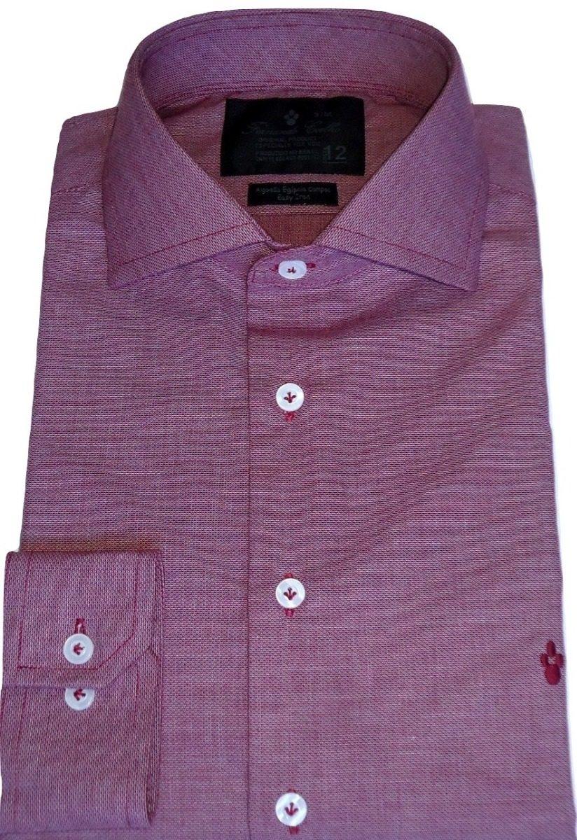 7e6adedd14 camisa social sport lisa slim fit algodão egípcio luxo. Carregando zoom.
