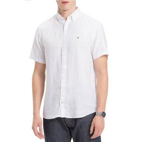 81792b4cb7 Camisa Social Tommy Hilfiger Masculina Original - Tam M - P2