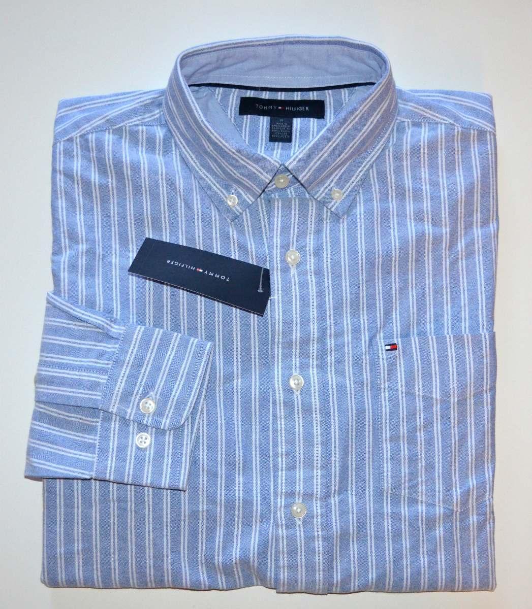 camisa social tommy hilfiger original - pronta entrega. Carregando zoom. 43821e0b9353b