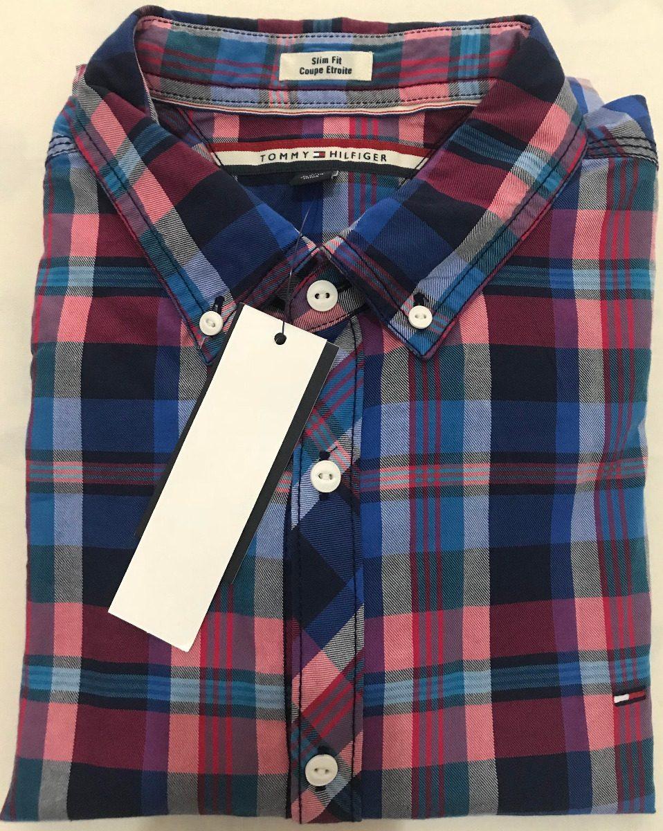 58d6f09553 camisa social tommy hilfiger tamanho gg xl original slim fit. Carregando  zoom.