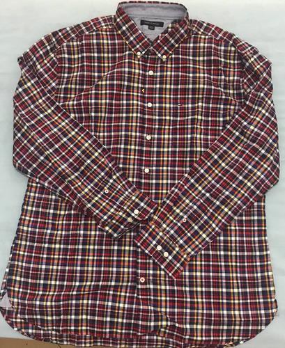 camisa social tommy hilfiger tamanho ggg xxl classic fit