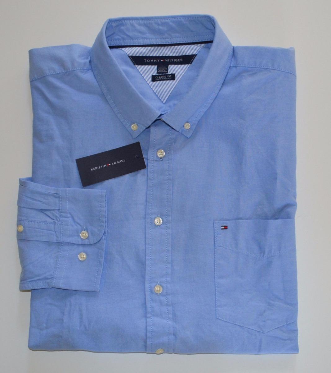 camisa social tommy hilfiger tamanho p s modelos classic fit. Carregando  zoom. 47270c3457aa8