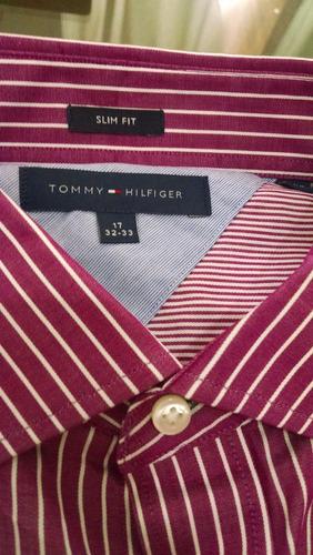 camisa social tommy original