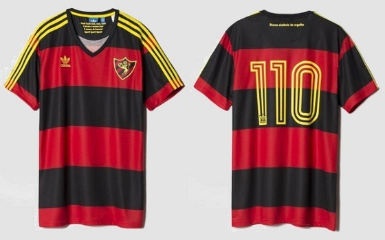 66bf074d53 Camisa Sport Recife adidas 110 Anos Ab3172 Original - R  99