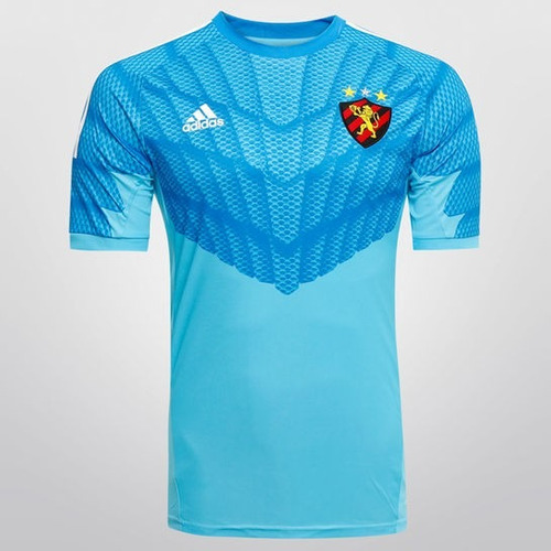 camisa sport recife adidas goleiro azul original 2016