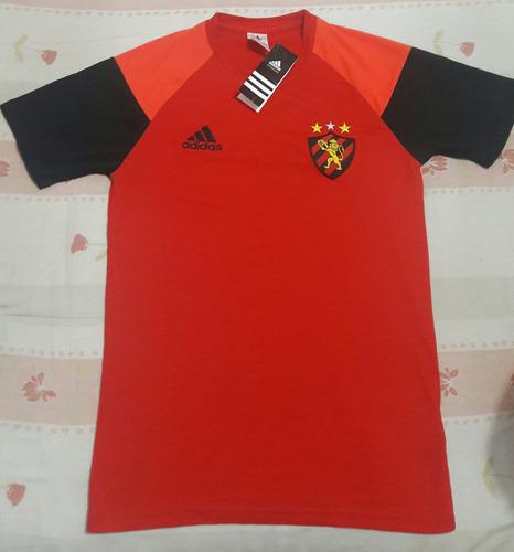 camisa sport recife adidas vermelho e preto
