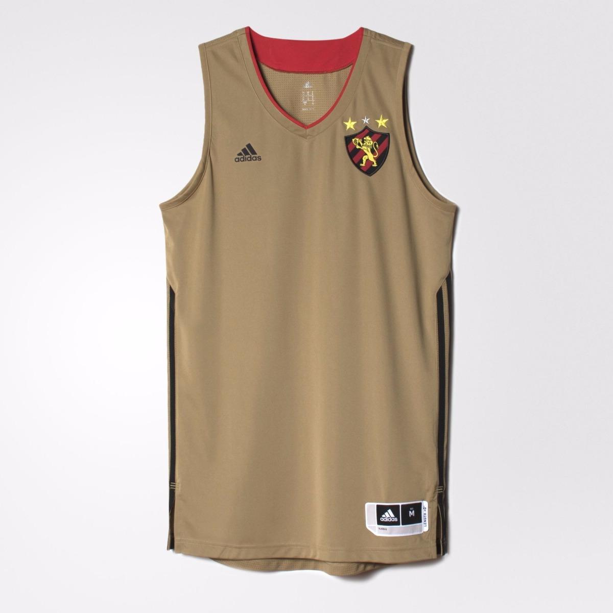 46e8159a4 camisa sport recife basquete dourada original- footlet. Carregando zoom.