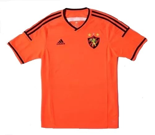 3d7840d3595 Camisa Sport Recife Infantil 3 Laranja adidas Novo Original. - R  54 ...