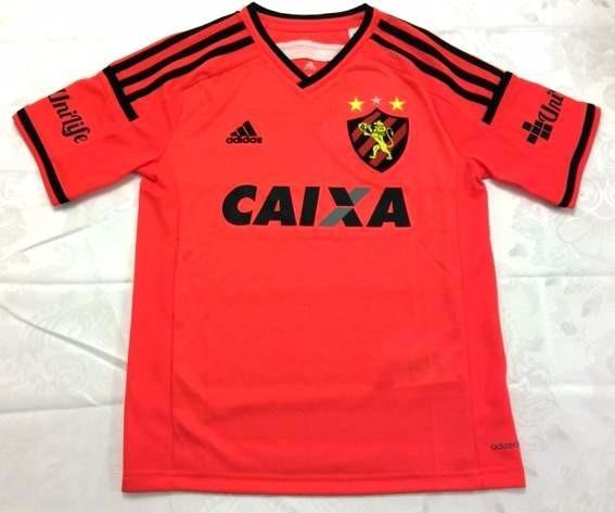 a6015d105cb39 Camisa Sport Recife Infantil Laranja Original - Footlet - R  89