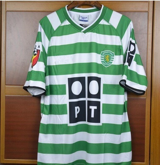 outlet store 04959 cf781 Camisa Sporting 02/03 Cristiano Ronaldo 28 Cr7