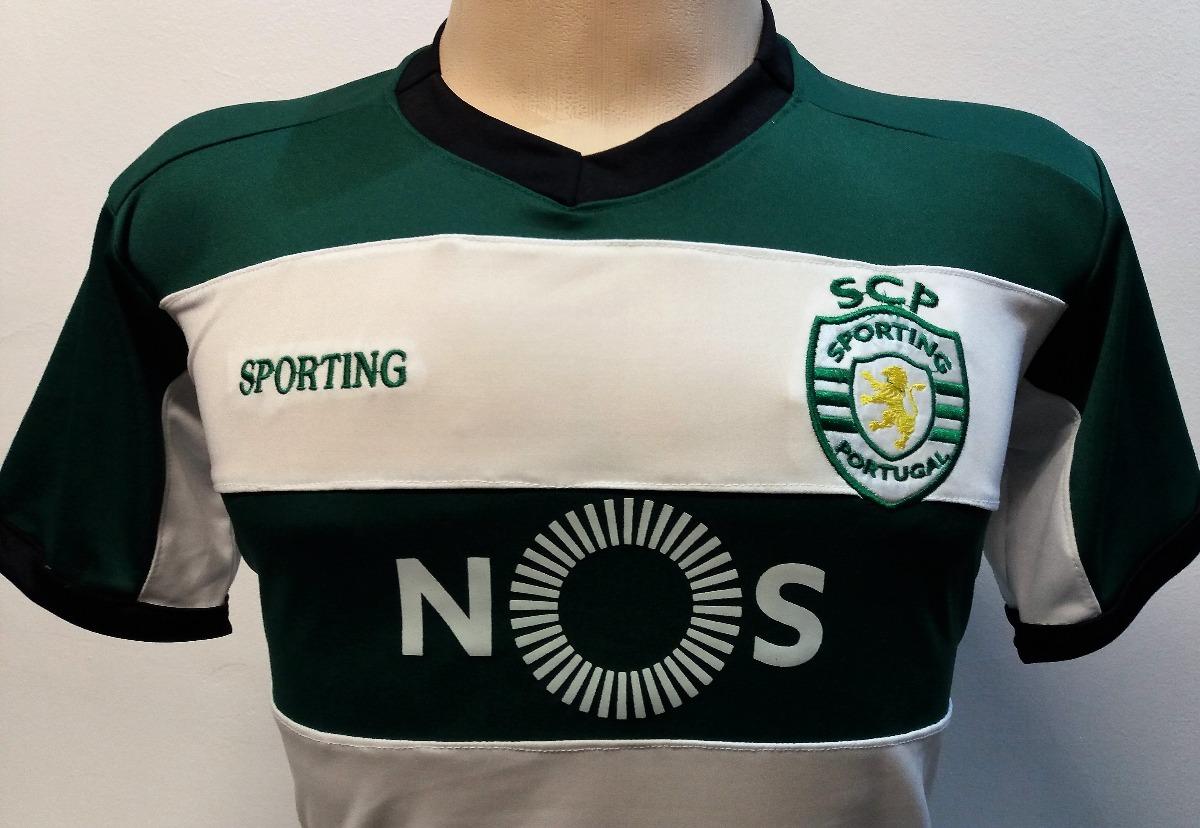 e53c30ce55 camisa sporting de portugal 2018. Carregando zoom.