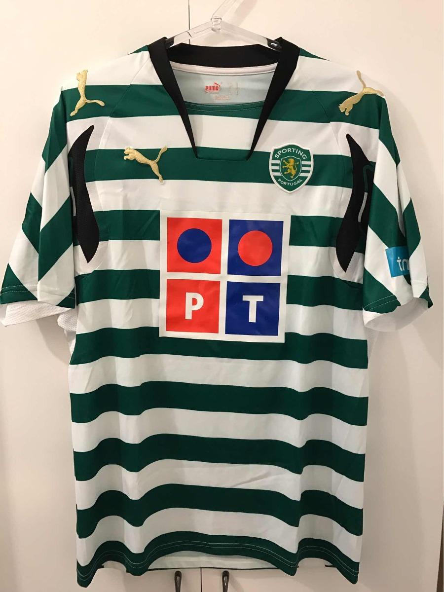 320f2a9825 camisa sporting lisboa portugal original 2007 2008 tam p. Carregando zoom.