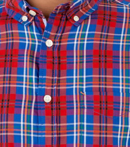 camisa springfield manga larga a cuadros