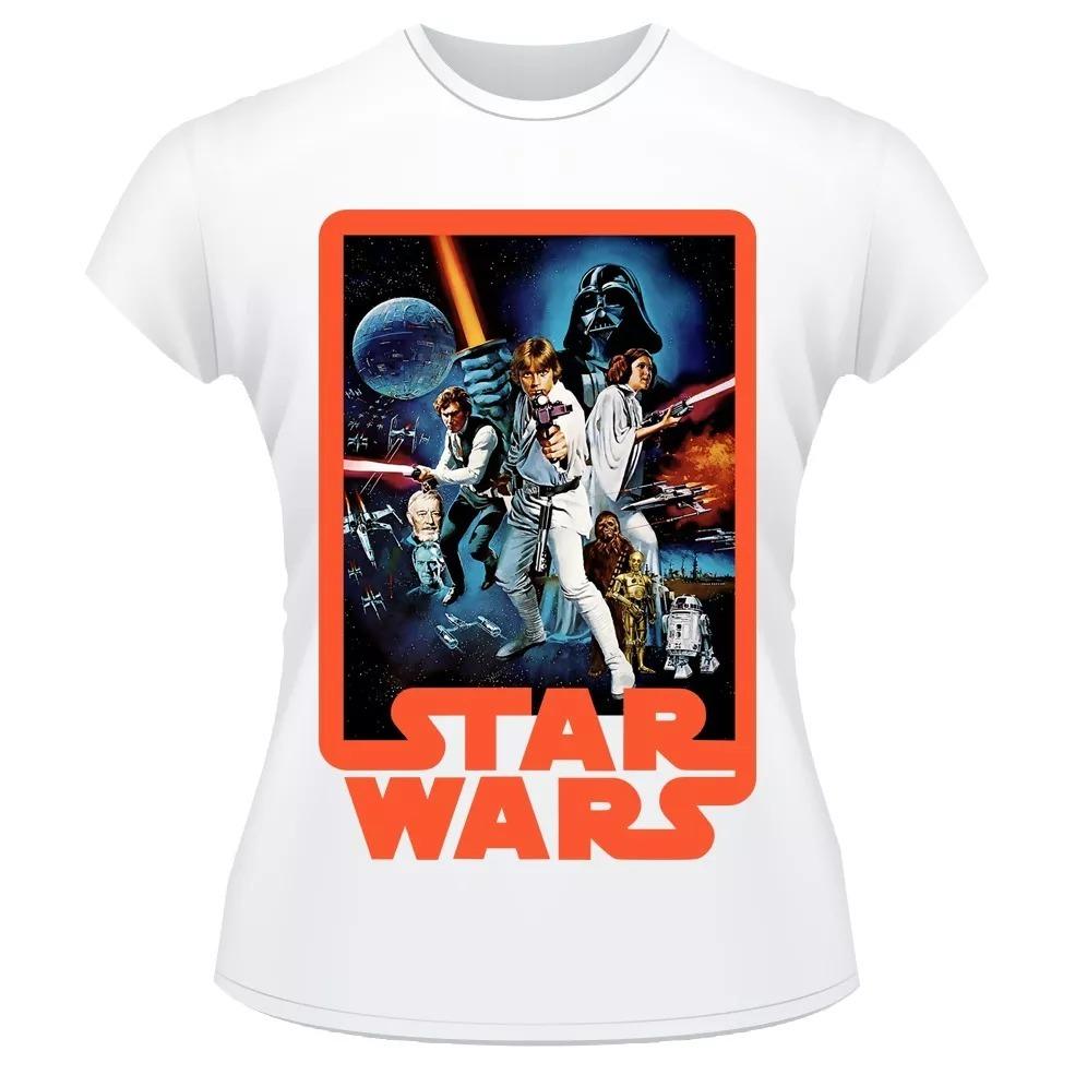 ec4d38ee2 camisa star wars filme guerra nas estrelas cod1. Carregando zoom.