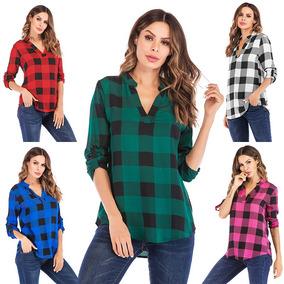 66f78a3a901 Camisas A Cuadros Para Mujer - Vestuario y Calzado en Mercado Libre ...