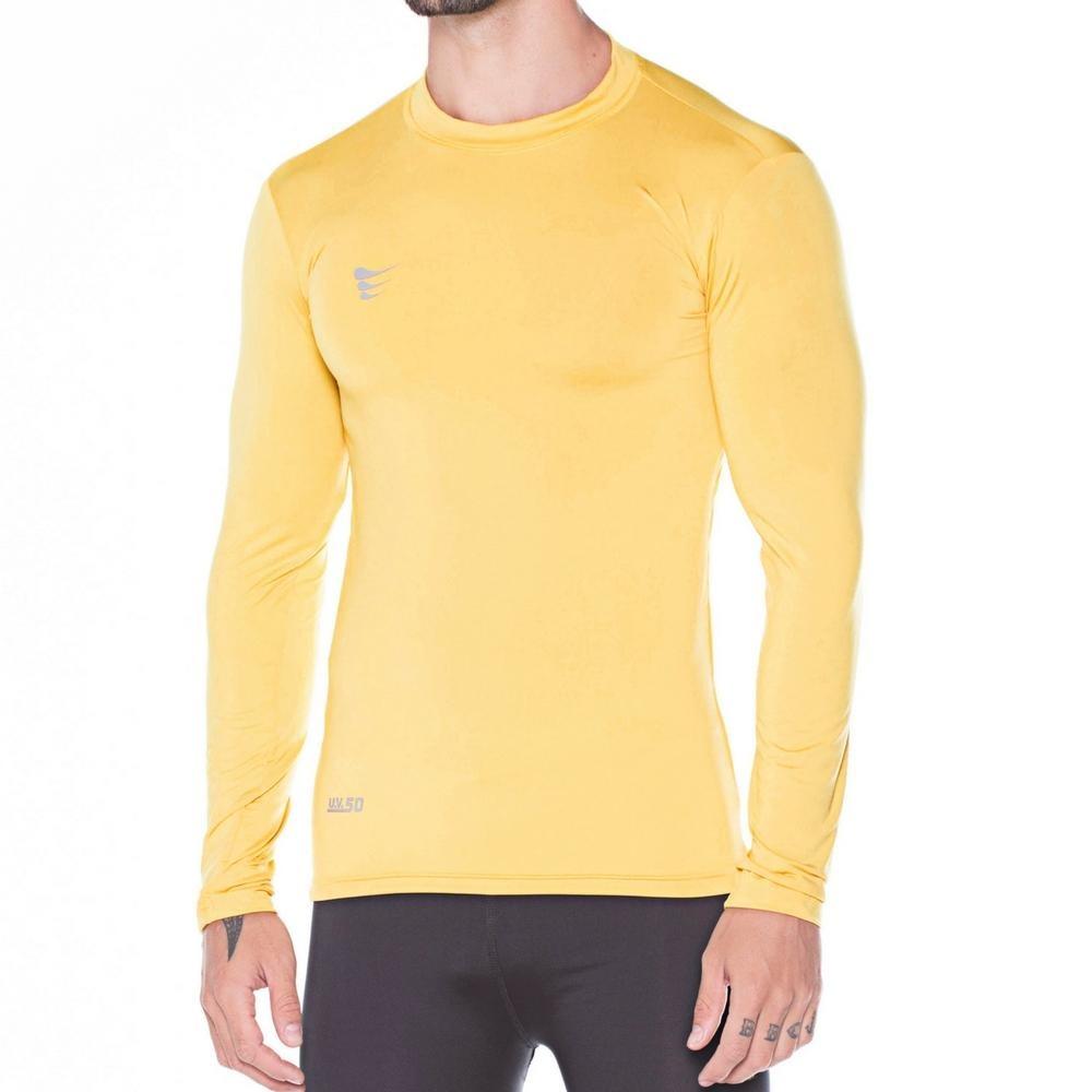d0d2e18f29 camisa super bolla compressão manga longa - cor amarelo. Carregando zoom.
