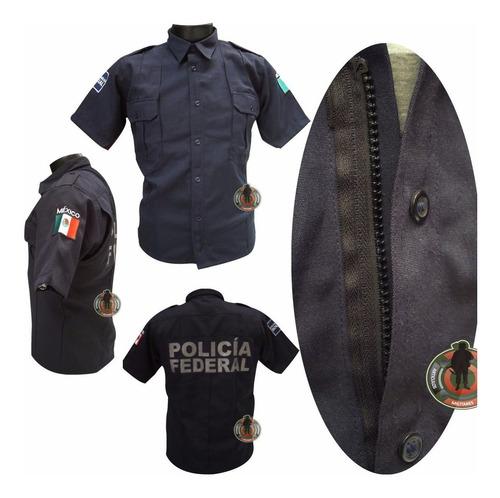 camisa tactica con bolsas ocultas cierre simulado manga cort