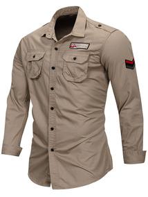 19c9f6a9ae Camisa Verde Militar Hombre - Ropa y Accesorios en Mercado Libre Argentina