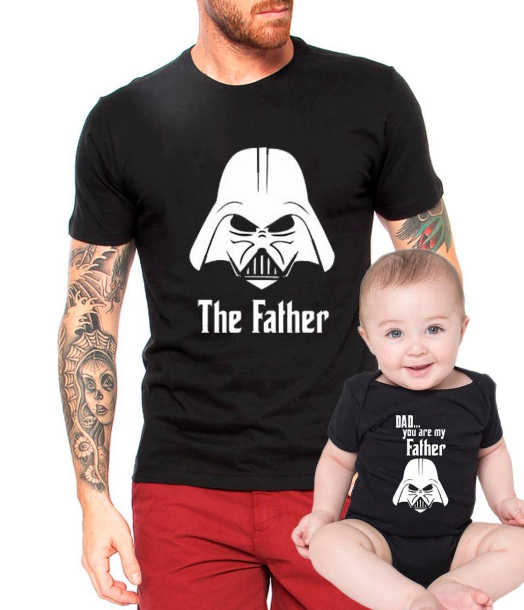 70e66fc6f4 Camisa Tal Pai Tal Filho Star Wars Camiseta Darth Vader Body - R  69 ...
