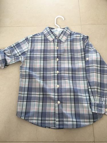 camisa talla 5 años . 100% álgodon . ropa americana