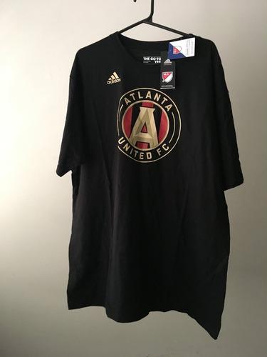 camisa tamanho gg (xl) atlanta united adidas mls algodão