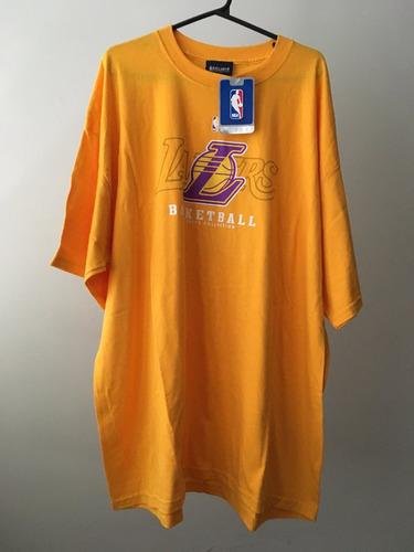 camisa tamanho ggg (2xl) los angeles lakers nba