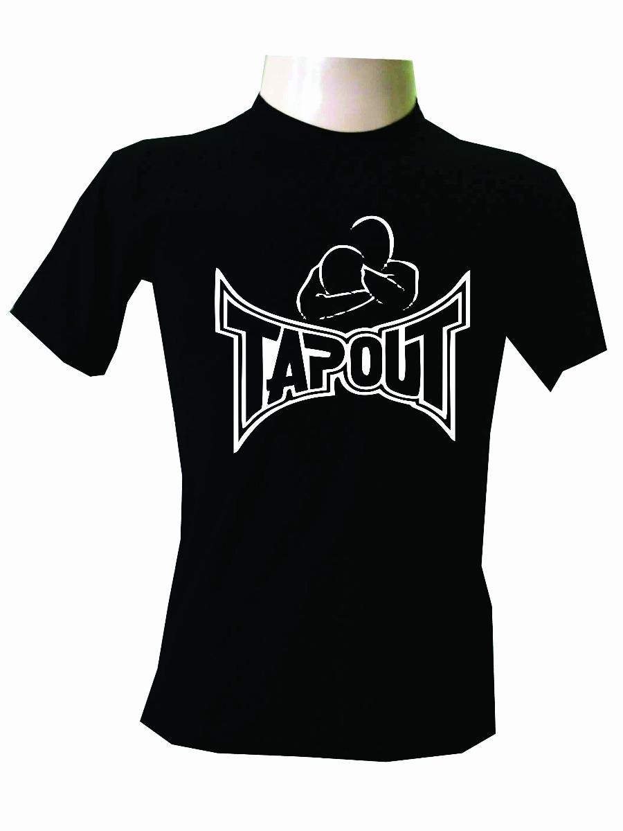 ccd216b99 Camisa Tapout Manga Curta Jiu Jitsu Lutas Fitness Promoção - R  79 ...