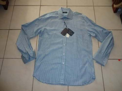 camisa ted baker archive super exclusiva 16.5 doble puño