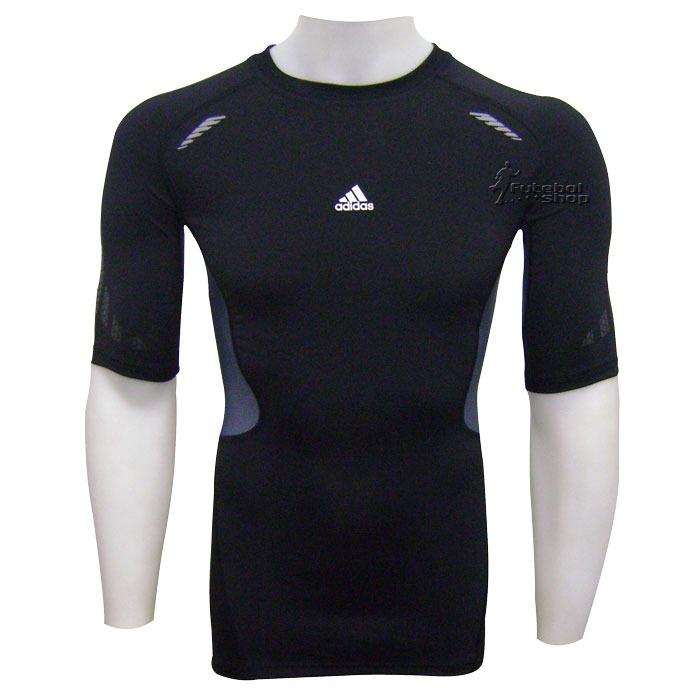 Camisa Térmica adidas Techfit Preparation Manga Curta - R 124 94f72fe64fe06