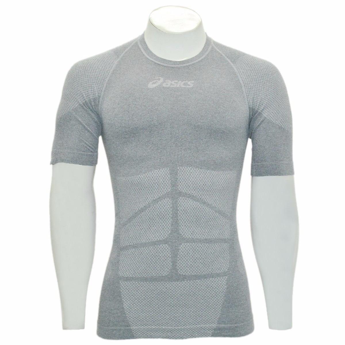 75b0acaf9d camisa térmica asics manga curta 2ª pele running frete free. Carregando  zoom.