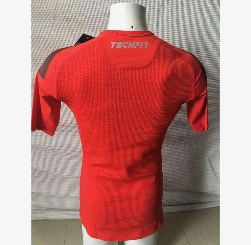 camisa térmica compressão original flamengo adidas techfit. Carregando zoom. aabb6b2cd76ab