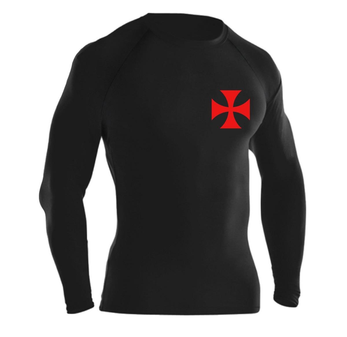 03891858a4 camisa térmica compressão vasco manga longa proteção uv. Carregando zoom.