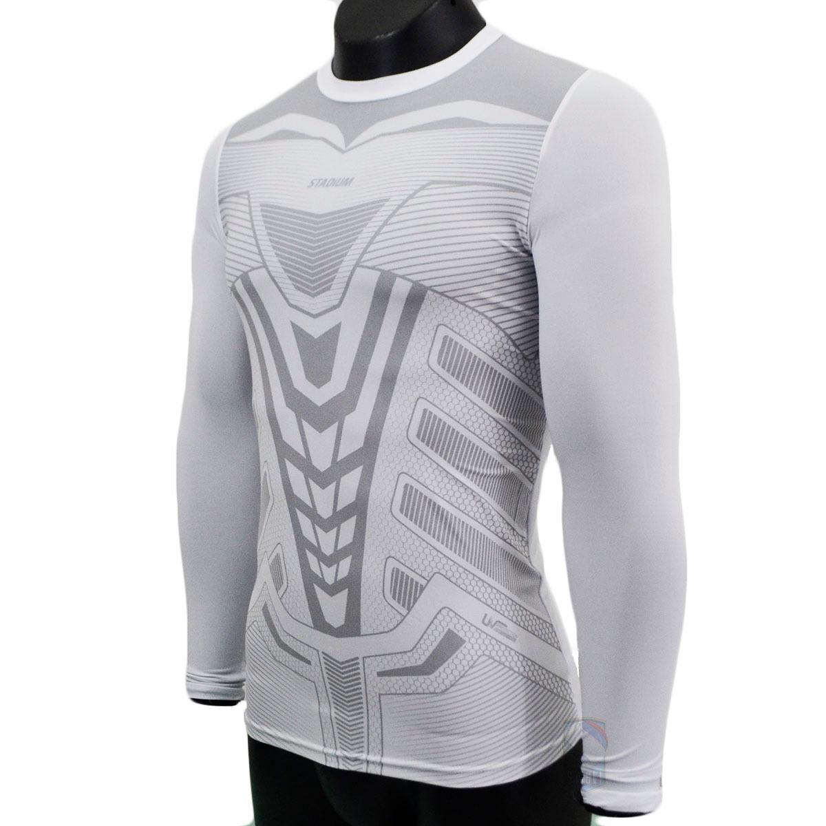 c633492443 camisa térmica de compressão stadium prot uv 50 antibactéria. Carregando  zoom.